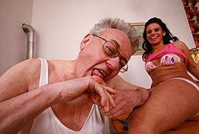 Granny amateur sex